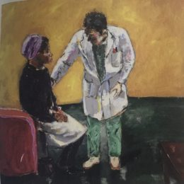 Doctor Comforting Mother