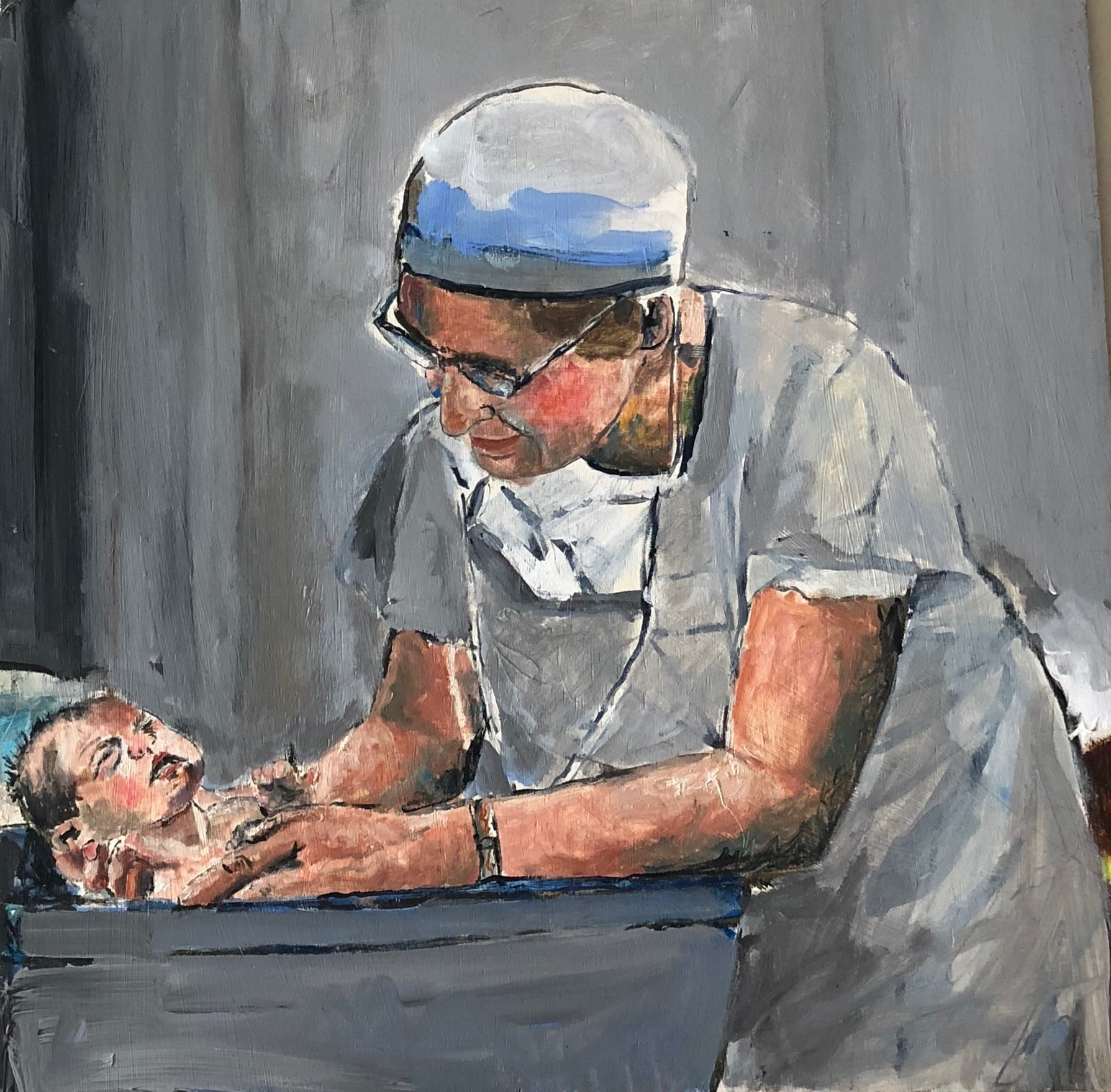 Virginia Apgar, M.D. - Caring For New Born