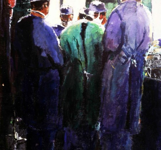 5 surgeons operating room