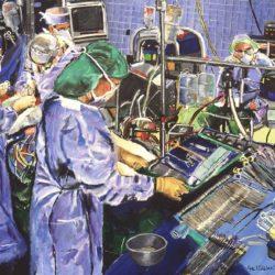 Cardiac Surgery Surgeons in Operating Room