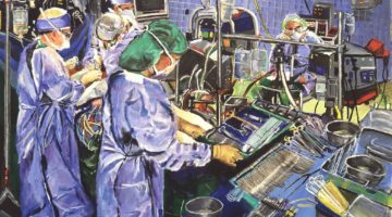 Cardiac Surgery Surgeons in Operating Room