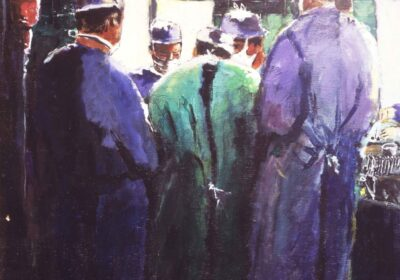 Five Surgeons Deep In Surgery