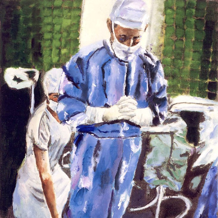 Contemplation Before Surgery