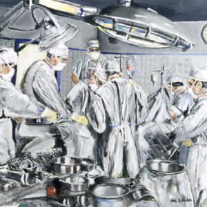 Surgeons As Heroes Canvas Print