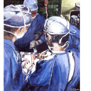 Surgeons Deep-In-Surgery Performing Surgery