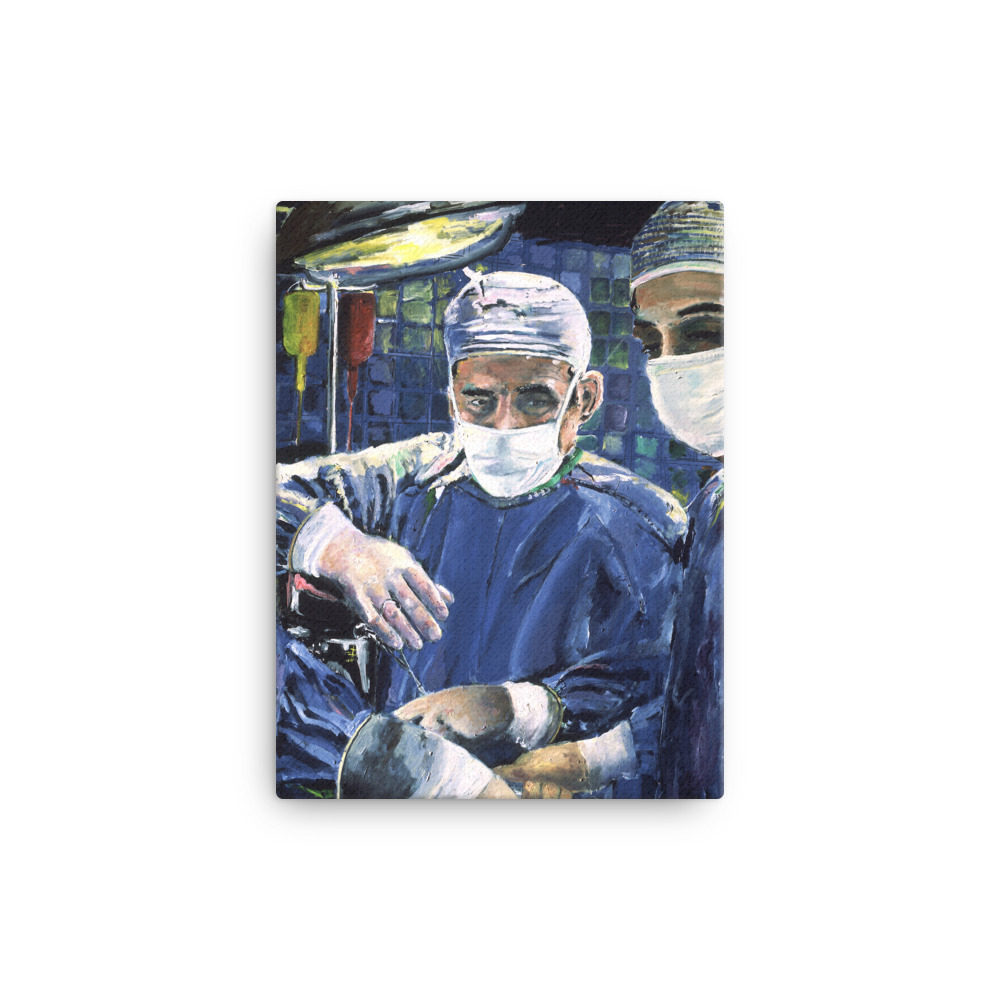 Magic Hands Surgeon Canvas Print