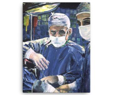 Magic Hands of Surgeon Operating Room Surgery