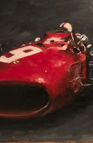 Joe Wilder MD Artist Red Race Car