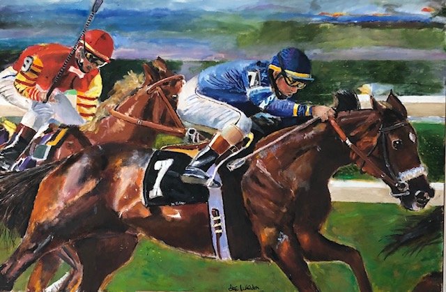 "Titled: ""Horse Race No. 7 """