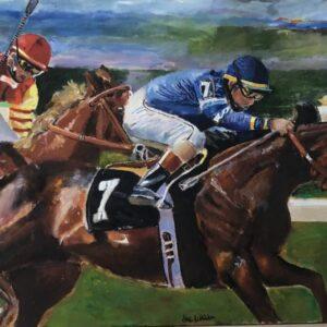 Thoroughbred Race Horse Digital Print