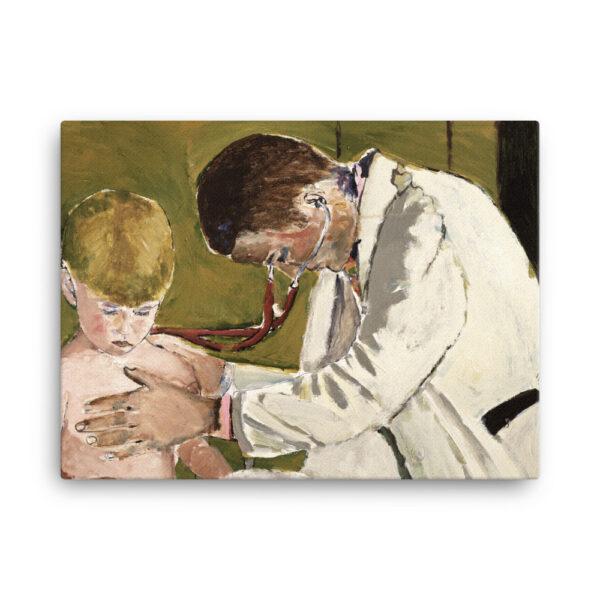 Pediatrician Examining Patient