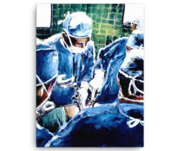 The Surgeons in Operating Room