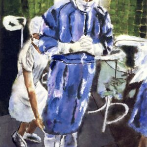 Contemplation Before Surgery Art Surgeon