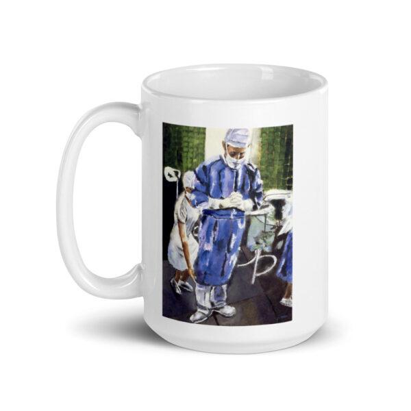 Contemplation Surgeon Coffee Mugs