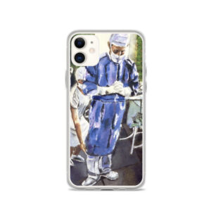 Contemplation Before Surgery iPhone Case