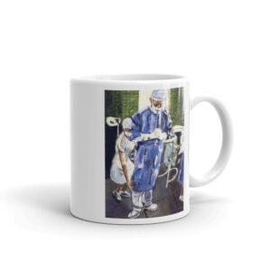 Contemplation Before Surgery Coffee Mug