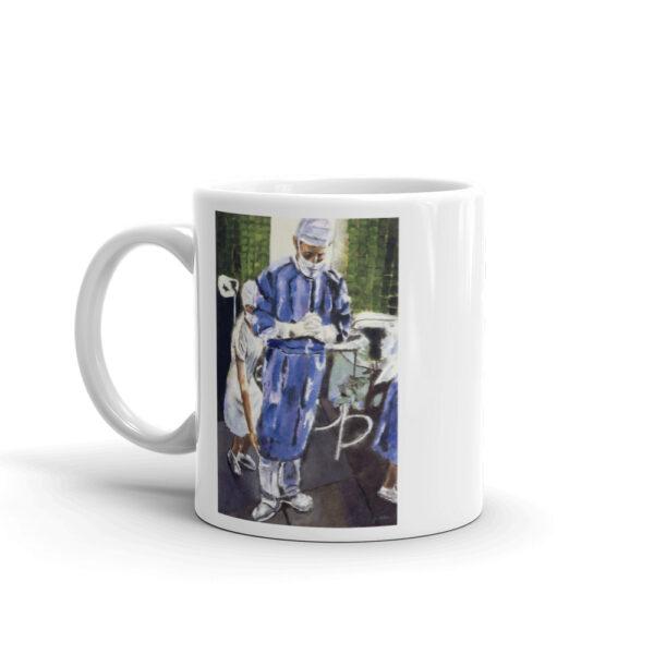 Contemplation Surgeon Coffee Mug