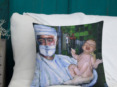 OB GYN Premium Pillow