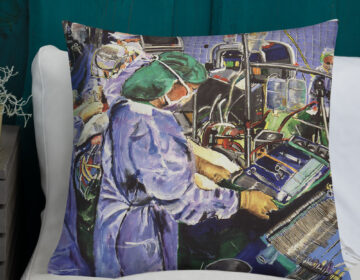 PILLOW Nurse In The Operating Room