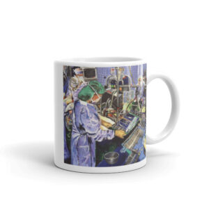 Surgical Nurse In Operating Room Coffee Mug