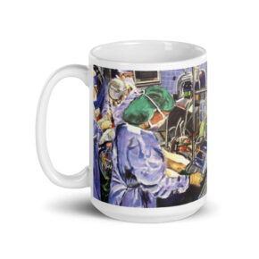 Coffee Mug Nurse in Operating Room $26