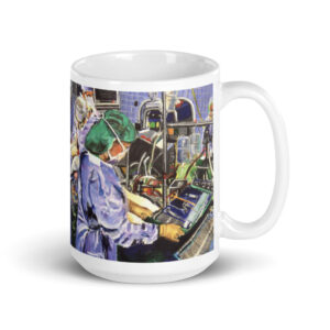Nurses In The Operating Room Coffee Mug 15oz