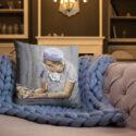 OB GYN Caring New Birth Art Pillow