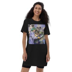 OR Nurse Surgery Organic Cotton T-Shirt Dress