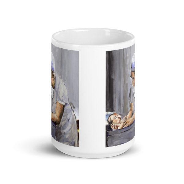 OB GYN Caring New Birth Art Coffee Mug