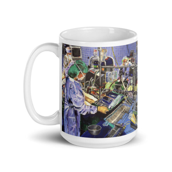 Anesthesiologist in Operating Room - Coffee Mug