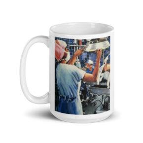 Nurses in Operating Room Coffee Mug