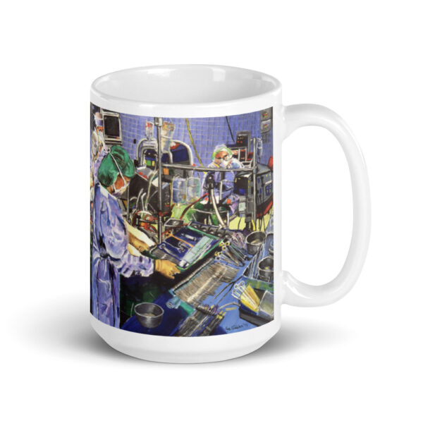 Anesthesiologist in Operating Room Coffee Mug