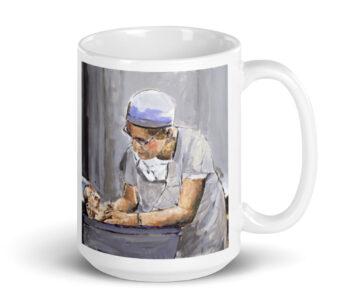 OB GYN Caring New Birth Art Coffee Mug 15oz