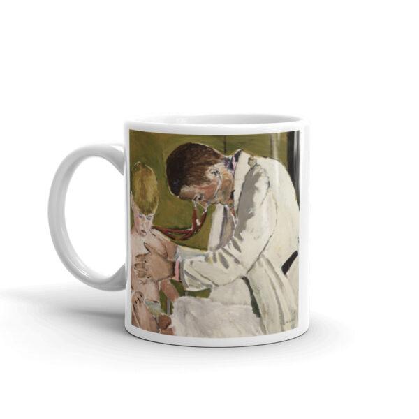 Pediatrician Examining Patient – Coffee Mug Gift Idea For Pediatrician
