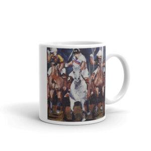 Polo Players Riding Horses Polo Players Coffee Mug Gift