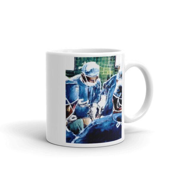 Surgeon Coffee Mug Artwork Surgeon Surgery