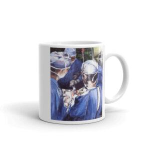 Surgeons Deep In Surgery Surgeon Coffee Mug Thank You Gift Surgeon After Surgery