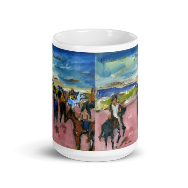 Thoroughbred Race Horses on Ranch