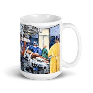 Gifts For Orthopedic Surgeon - Art of Surgery Coffee Mug