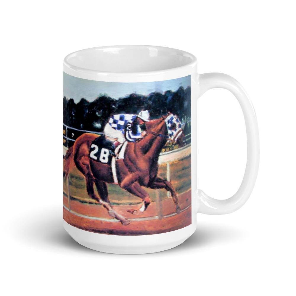 Jockey Riding Race Horse
