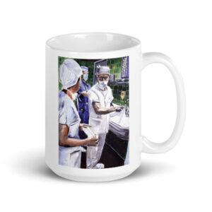 Surgeon Washing Hands For Surgery Surgeon Coffee Mug Thank You Gift Surgeon After Surgery