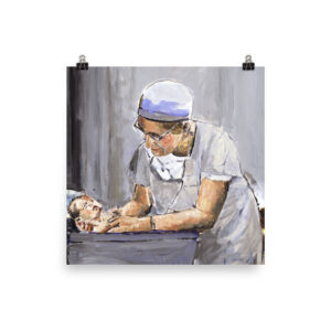 OBGYN Nurse Delivery Of Baby